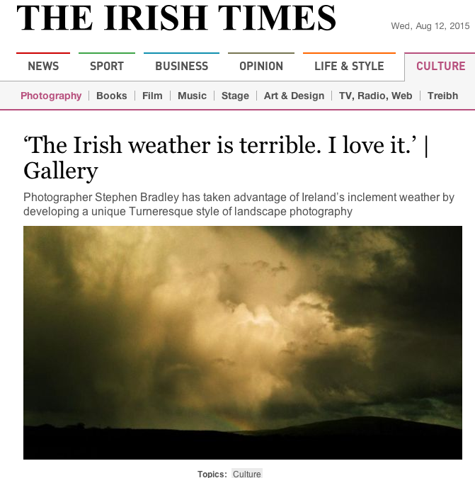 Landscape photography Irish Times