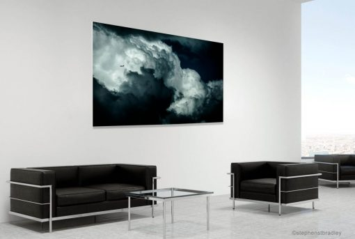 Fine art landscape photograph in a room setting - photo reference 6400.