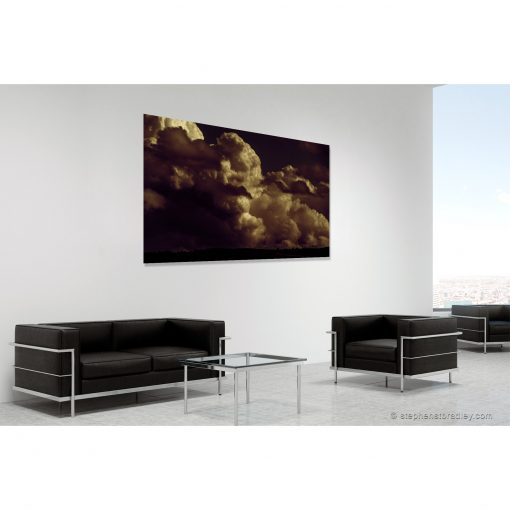 Valley of the Dead. Limited edition fine art photo 8777 in room setting - Stephen S T Bradley