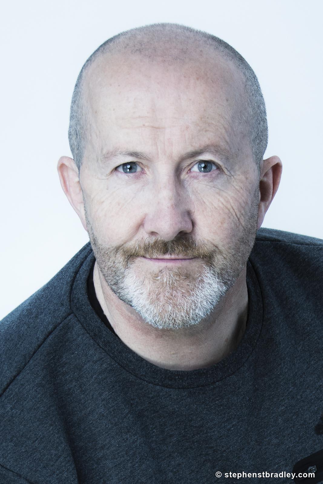 Portrait of photographer Stephen S T Bradley photographer and video producer Dublin, Ireland